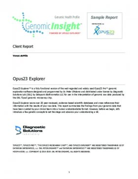 Sample Reports | Sample Reports Diagnostic Solutions Laboratory